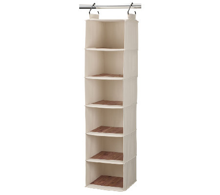 Household Essentials 6-Shelf Hanging Organizer