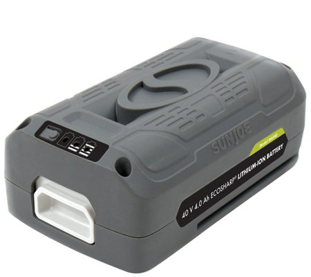 Snow Joe/Sun Joe 40V Lithium-Ion Battery