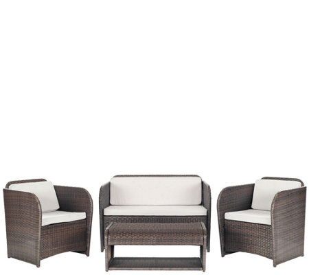 Safavieh Caprina 4-Piece Outdoor Set