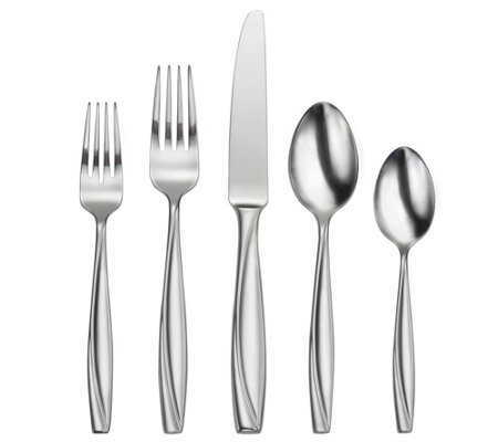 Oneida 45-piece Camlynn Mirror Flatware Set