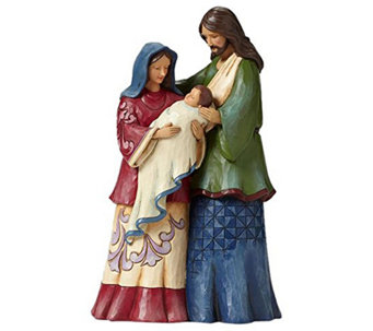 Jim Shore Heartwood Holy Family - H290206
