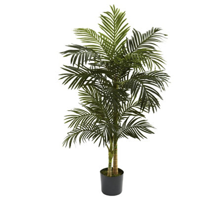 5' Golden Cane Palm Silk Tree by Nearly Natural