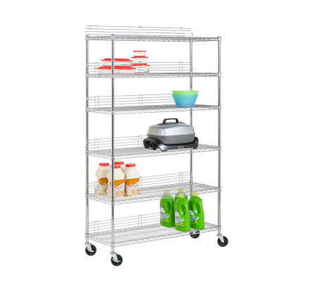 Honey-Can-Do 6-Tier Commercial-Grade Urban Storage Shelf