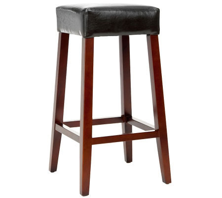 Benson Leather Barstool