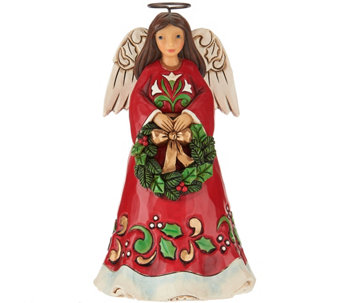 Jim Shore Heartwood Creek Pint Size Angel Figurine - H209207