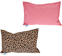 MyPillow Roll & Go 2-Pack Pillows with Pattern Options - H210307