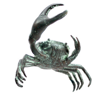 Design Toscano Bronze Crab Garden Sculpture - Small - H282707