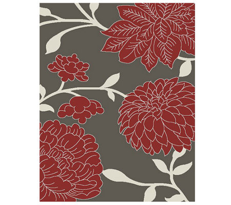 Safavieh Floral 8' x 11' Indoor/Outdoor Rug