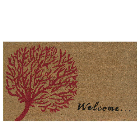 Geo Crafts Coir Doormat