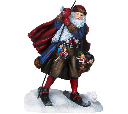 Limited Edition Juleman Santa Figurine by Pipka