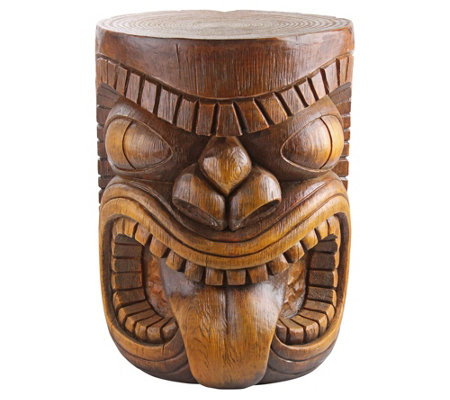 Design Toscano Lono Tongue Grand Tiki Table