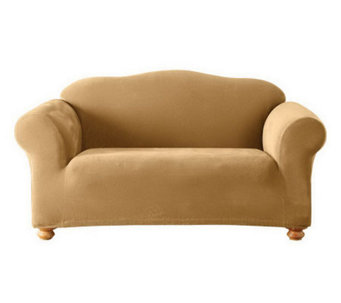 Sure Fit Stretch Pique 1-Piece Love Seat Slipcover - H351807