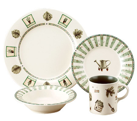 Pfaltzgraff Naturewood 16-Piece Dinnerware Set