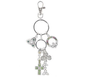 Killarney Crystal Charms of Ireland Key Chain - H09308