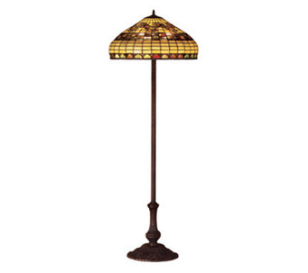 Tiffany Style Edwardian Floor Lamp   H112308