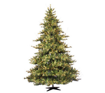 7-1/2' Prelit Mixed Country Pine Tree by Vickeran - H143008
