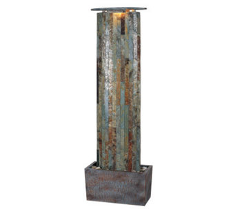 Kenroy Home Water Wall Indoor/Outdoor Floor Fountain - H161308