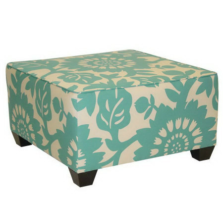 Square Gerber Cocktail Ottoman