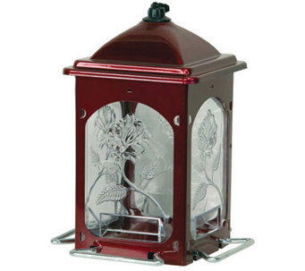 Scarlet Rose Bird Feeder - H177608
