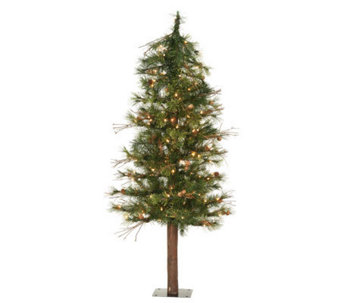 3' Mixed Country Alpine Tree w/ Clear Lights byVickerman - H183408
