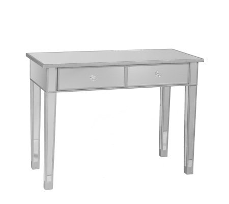 Knight Mirrored 2-Drawer Console Table