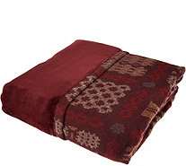 ED On Air Knitted Vintage Welsh Throw by Ellen DeGeneres - H209808