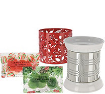 HomeWorx by Harry Slatkin FragranceWarmer with 2 Sleeves and 12 Gelables - H211408