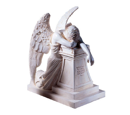 Design Toscano Moment of Reflection Victorian Angel Statue