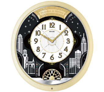 Seiko Lafayette Melodies in Motion Wall Clock - H285208