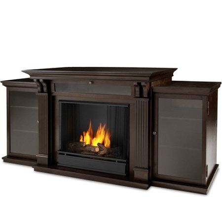 Real Flame Callie Gel Fuel Entertainment Center& Fireplace