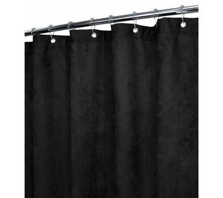 Watershed 2-in-1 Rich Suede 72x72 Shower Curtain