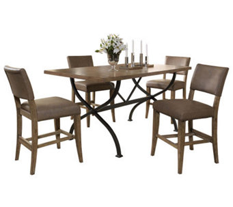 Hillsdale Charleston 5pc Ctr Ht Rect Dining Setw/Parson Chair - H358708