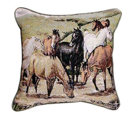Cripple Creek Remuda Pillow