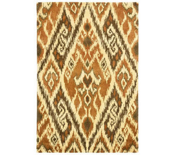 Safavieh Capri Collection Ikat 6' x 9' Wool and ViscoseRug - H362708