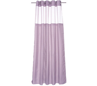 Hookless High Point Linen 3 in 1 Shower Curtain - H209009