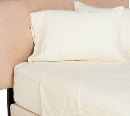 Malden Mills Polarfleece Cable Dobby Full Sheet Set