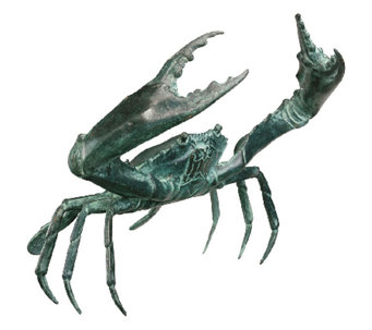 Design Toscano Bronze Crab Garden Sculpture - Large - H282709