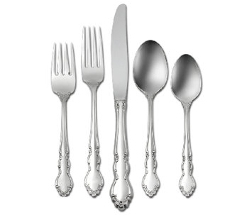 Oneida Dover 18/10 Stainless Steel 20-Piece Flatware Set - H283109