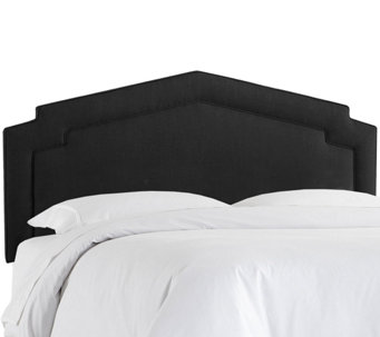 King Notched Headboard by Valerie - H286609