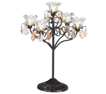 Exhart Indoor/Outdoor LED Five Flame Candelabra - H287509