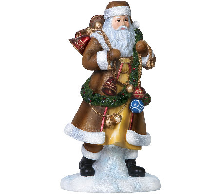 Limited Edition the Bell Ringer Santa Figurineby Pipka