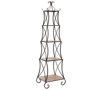 Jiles Four-Tier Etagere by Valerie Parr Hill - H288209