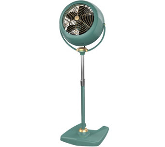 Vornado VFan Sr. Full-Size Pedestal Air Circulator, Green - H289209