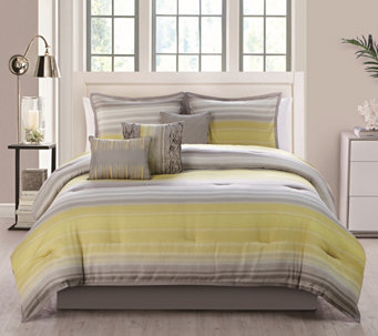VCNY Home Bowery 7-Piece Queen Comforter Set - H289709