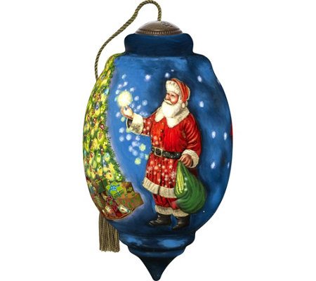 "6.75"" Limited Edition Dated 2017 Christmas Ornament By Ne'Qwa"