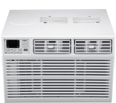 Whirlpool Window-Mount Air Conditioner 250-Sq Ft Room & Remote