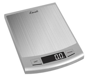 Escali Passo High-Capacity, Ultra-Slim DigitalKitchen Scale - H352809