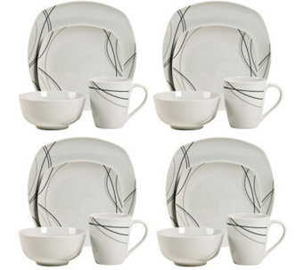 Tabletops Gallery 16-Piece Alec Dinnerware Set - H367809