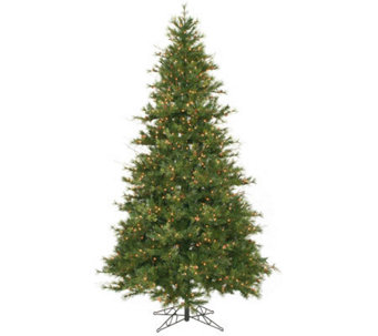 9' Prelit Slim Mixed Country Pine Tree by Vickeman - H143010