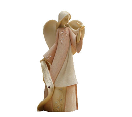 Enesco Foundations January Monthly Angel by Karen Hahn